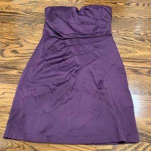 Purple tubetop dress size Small